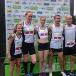Derek Rae with Scottish Athletics Teammates